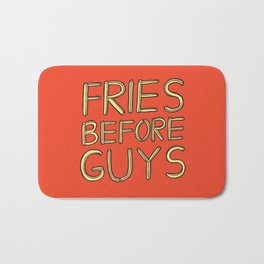 Fries Before Guys Bath Mat