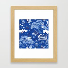 My chinese garden – my sanctuary Framed Art Print