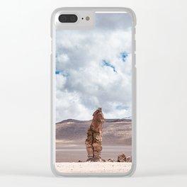 CHILE, San Pedro de Atacama: Atacama Desert Clear iPhone Case