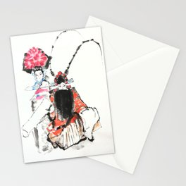 CHINESE OPERA Stationery Cards