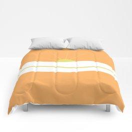 """ Orange days "" Comforters"