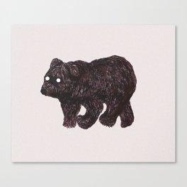 blind as a bear Canvas Print