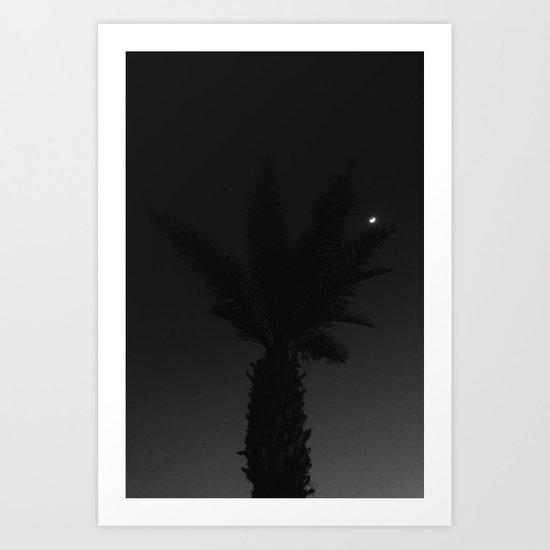Mexico Moon VII Art Print