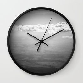 Blocking Rays Wall Clock