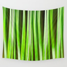 Tropical Green Riverweed Wall Tapestry