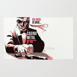 METAL GEAR: Casino Metal Rug