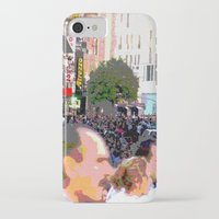 it crowd iPhone & iPod Cases featuring Crowd  by osile ignacio