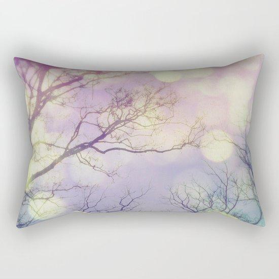 Lunar Orbit Rectangular Pillow