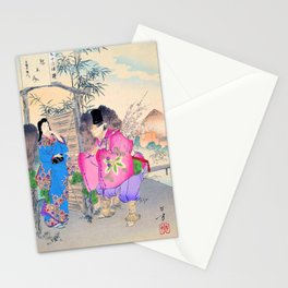 Mizuno Toshikata - Top Quality Art - fortune-teller Stationery Cards
