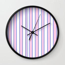 Strips 2-line,band,striped,zebra,tira,linea,rayas,rasguno,rayado. Wall Clock