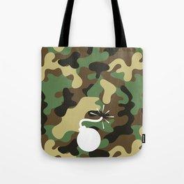 CAMO & WHITE BOMB DIGGITY Tote Bag