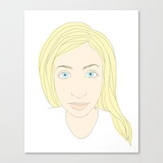 Blonde Canvas Print
