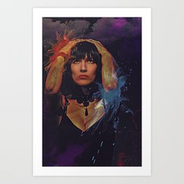 Downpour Art Print