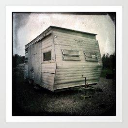 La caravane de Bob Art Print