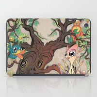 jungle iPad Cases featuring JUNGLE by GEEKY CREATOR