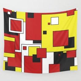De  Stijl Wall Tapestry