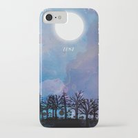 luna iPhone & iPod Cases featuring Luna by Jo Cheung Illustration