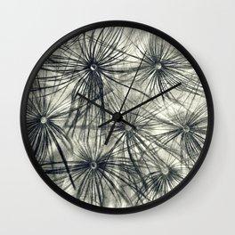 Dandelion 2 Wall Clock