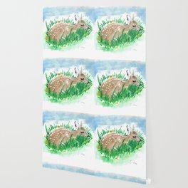 Shy Bambi Deer Wallpaper