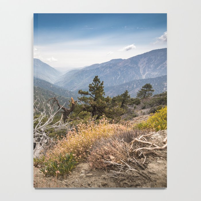 Inspiration Point along Pacific Crest Trail Notebook