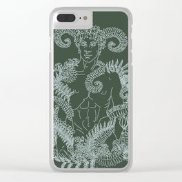 The cruel boy /scaled down/ Clear iPhone Case