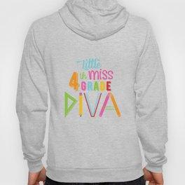 Little Miss 4th Grade Diva Hoody