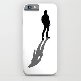 My Real Nature Is In My Shadow iPhone Case