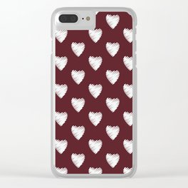 Maroon 10.7. Clear iPhone Case