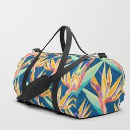 Strelitzia Pattern Duffle Bag