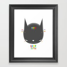 HELLO EP002 - LOST Framed Art Print