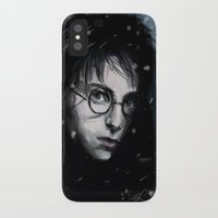 harry iPhone & iPod Cases featuring Harry by LucioL
