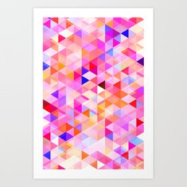 Abstract Pattern XI Art Print