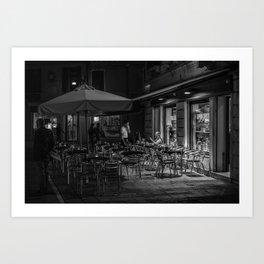 Goppion Caffe, Venice, Italy Art Print