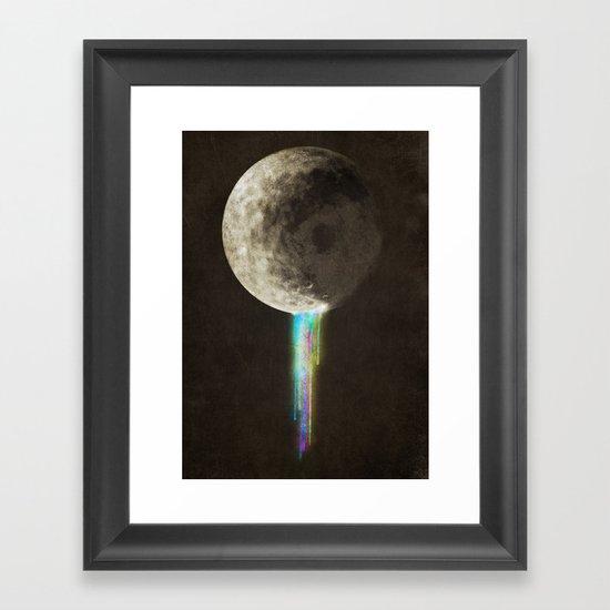 Color Bleed Framed Art Print