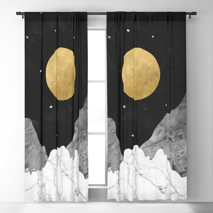 Moon and Stars Blackout Curtain