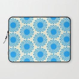 Vintage Flower_Turquoise Laptop Sleeve