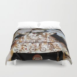 My Life Is Like A Collage Duvet Cover