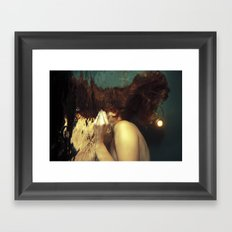 Passing Through To the Other Side Framed Art Print