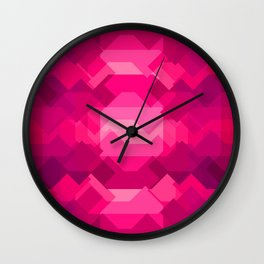 Gemstone - Ruby Wall Clock