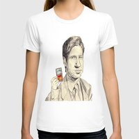 mulder T-shirts featuring Mulder by withapencilinhand