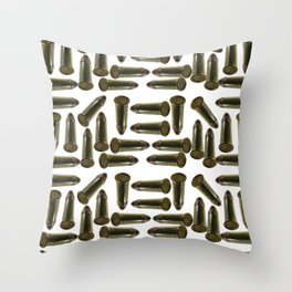 Low gage ammunition for sport target shooting Throw Pillow