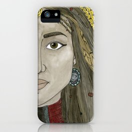 Zipporah iPhone Case