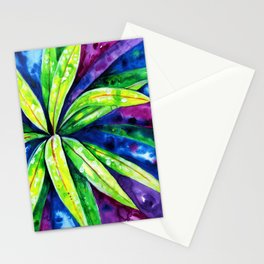 Croton - Tropical Leaves Stationery Cards