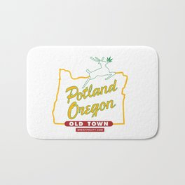 Potland Oregon Bath Mat