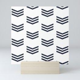Yacht style pattern #3 Mini Art Print