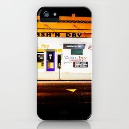Laundromat Lights. iPhone Case