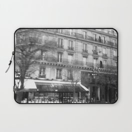Driving Past the Cafe Laptop Sleeve