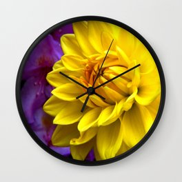 Floral Beauty #1 Wall Clock