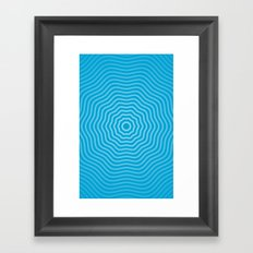 Concentric  Framed Art Print