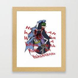 Punchline Framed Art Print
